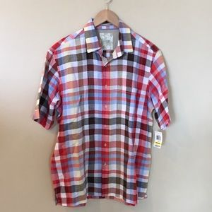 NWT men's casual button up top